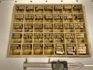 Esecuzione di tasselli Punzoni Acciaio base 6.4x9.5x19.05 L